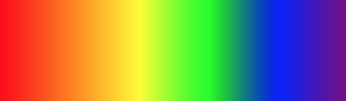 A Horizontal Rainbow Gradient Using CAGradientLayer