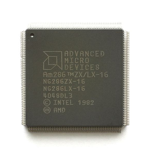 The AMD286ZX/LX family could be considered one of the earliest attempts at a true system-on-chip.