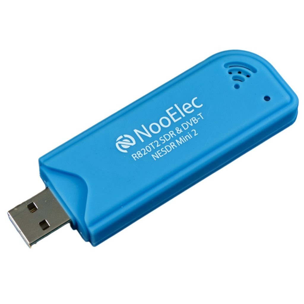 Inexpensive Nooelec Brand  R820T SDR/DVB-T Software Defined Radio USB Module - Great for debugging LoRa